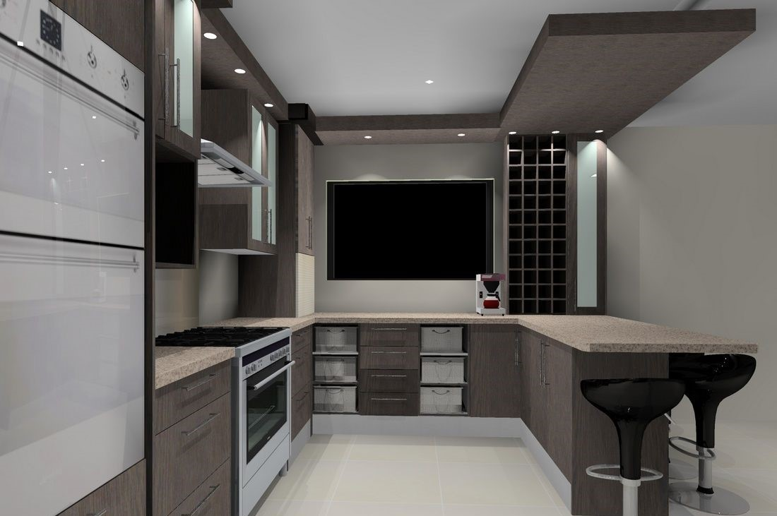 Kitchen cupboards Honeydew